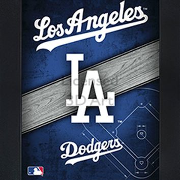Los Angeles Dodgers | 3D Art | By PFF | Framed | 3-D | Lenticular Artwork | MLB Licensed