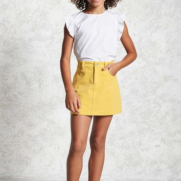 Girls Corduroy Skirt (Kids)