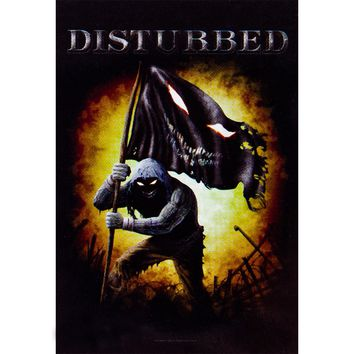Disturbed - Face Flag Tapestry