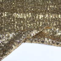 Gold Sequins Seaweed Fabric By The Yard Fat Quarter