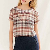 One & Only X Urban Renewal Peter Pan Collar Blouse-