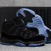 "Air Jordan 11 Retro ""Cap And Gown"" Sneaker Shoe"