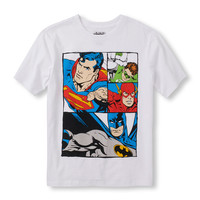 Boys Short Sleeve DC Comics Group Comic Graphic Tee | The Children's Place