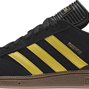 adidas Busenitz Pro Skate Shoes - Black/St Spice Yellow/Gum 5