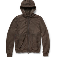 Berluti - Packable Nubuck Jacket | MR PORTER