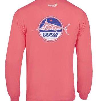 Men's Terrible Marlin L/S UV Fishing T-Shirt