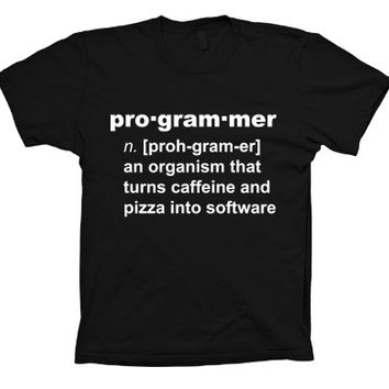 Programmer Funny Definition T-shirt