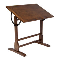 Studio Designs Rustic Oak Vintage Drafting Table | Overstock.com Shopping - The Best Deals on Drafting Tables