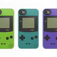 Gameboy Color iPhone Case ! (Teal) by San  Ronan