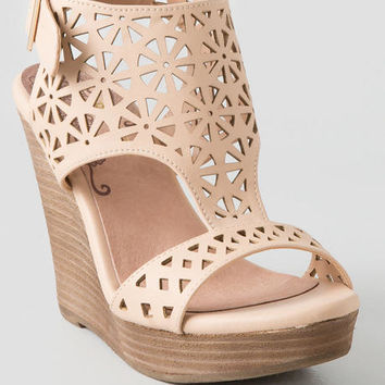 Miss Lasercut Wedge