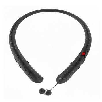 Bluetooth Sport Headset With Retractable Earbuds!