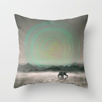 Spinning Out of Nothingness Throw Pillow by Soaring Anchor Designs | Society6