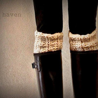 Leg Warmers/ Boot Warmers/Boot Toppers/ The Kilkenny Boot Cuff - Fisherman