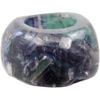 Fluorite T-light holder