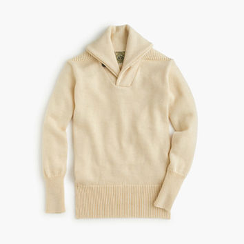 J.Crew Mens North Sea Clothing Expedition Shawl-Collar Sweater