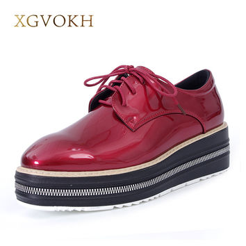 XGVOKH Women pumps Fashion casual Solid  Pointed Toe Lace-Up high Heels Dress Woman Shoes College Style 3 colors