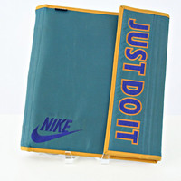 vintage 90s retro NIKE old school JUST do IT mead organizer binder