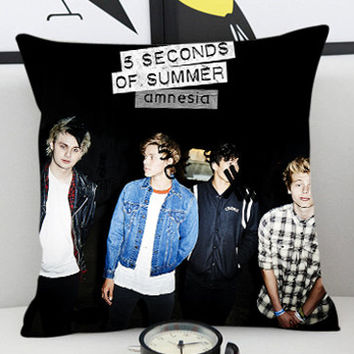 5 Seconds Of summer Amnesia - Pillow Cover by PillowKesetiaan.
