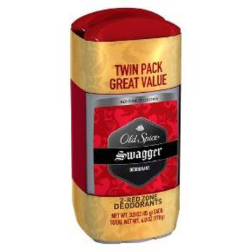 Old Spice Red Zone Swagger Deodorant Twin - 6 oz : Target