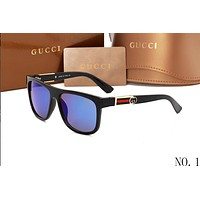 GUCCI 2018 counter models men and women elegant stylish sunglasses F-ANMYJ-BCYJ NO.1