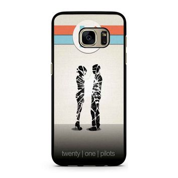 Twenty One Pilots 3 Samsung Galaxy S7 Case