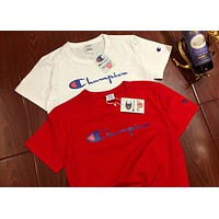 Champion Tide brand perfect classic string logo hot stamping high-end T-shirt F-MG-FSSH