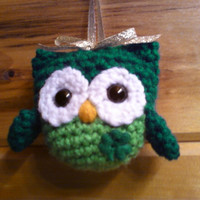 Irish Owl Ornament