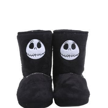 the-nightmare-before-christmas-jack-head-slipper-boots number 1