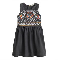 crewcuts Girls Embroidered Tank Dress