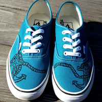 Nautical Anchor Vans