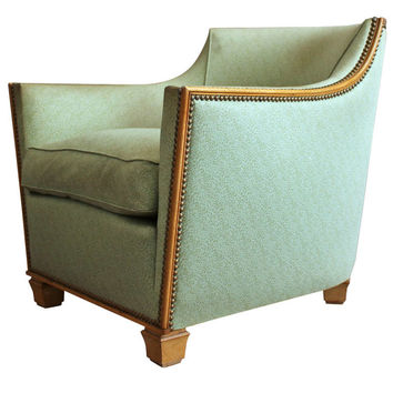 French Art Deco Armchair by Dominique