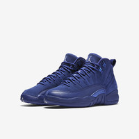 The Air Jordan Retro 12 (3.5y-7y) Big Kids' Shoe .