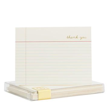 Notecard Thank You Note Set