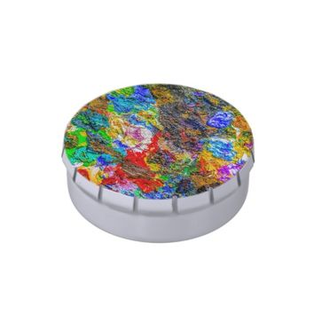 Color palette jelly belly candy tins