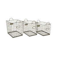 Newbury Wire Baskets - Set of 3