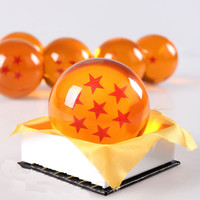 Dragon ball Z star crystal ball Big Size DIN:3.0  Inch(7.5CM)  In Box Can Choose Free Shipping