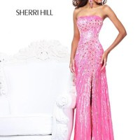 Sherri Hill Dress 8515 at Peaches Boutique