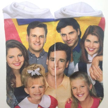 FULL HOUSE ANKLE SOCKS