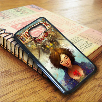 Briliant Bioshock Infinite Poster Samsung Galaxy S6 Case