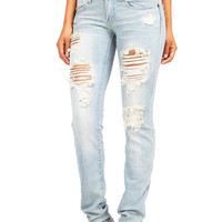 Treading Slasher Straight Jeans