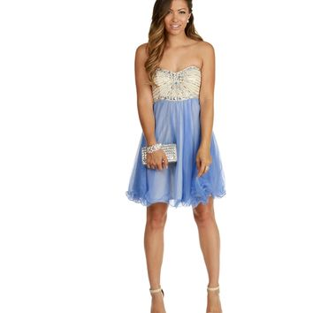 Tammy-Pearl Homecoming Dress