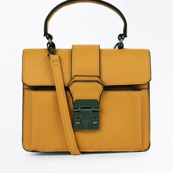Mustard Top Handle Bag | New Look