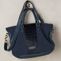 Liebeskind Esther Embossed Satchel in Navy Size: One Size Bags