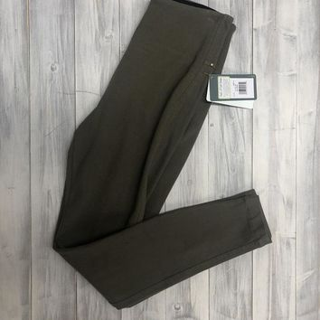 Lysse Denim Legging - Green