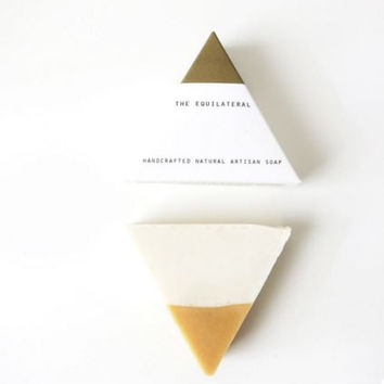 Equilateral Handcrafted Soap - White Gold