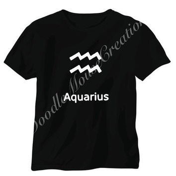 Aquarius zodiac sign, Aquarius zodiac, Aquarius, zodiac sign, Aquarius gift, Aquarius shirt, star sign, Aquarius birthday gift, Zodiac gift
