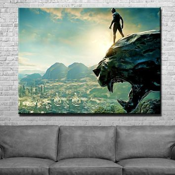 Panther Scenic Canvas Set