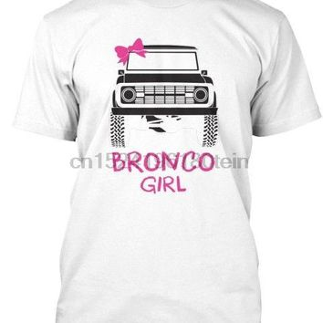 Ford Bronco Girl Womens T-Shirt Truck T-Shirt S-5X Unisex
