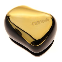 Tangle Teezer Compact Styler Instant Detangling Hairbrush - Metallic Gold Rush
