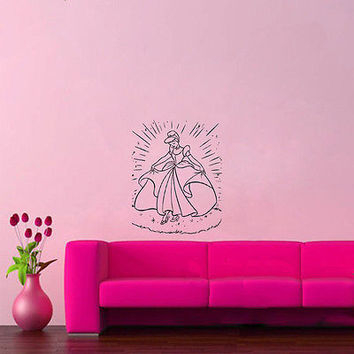 Wall Mural Vinyl Sticker Decal  REINCARNATION CINDERELLA DA881